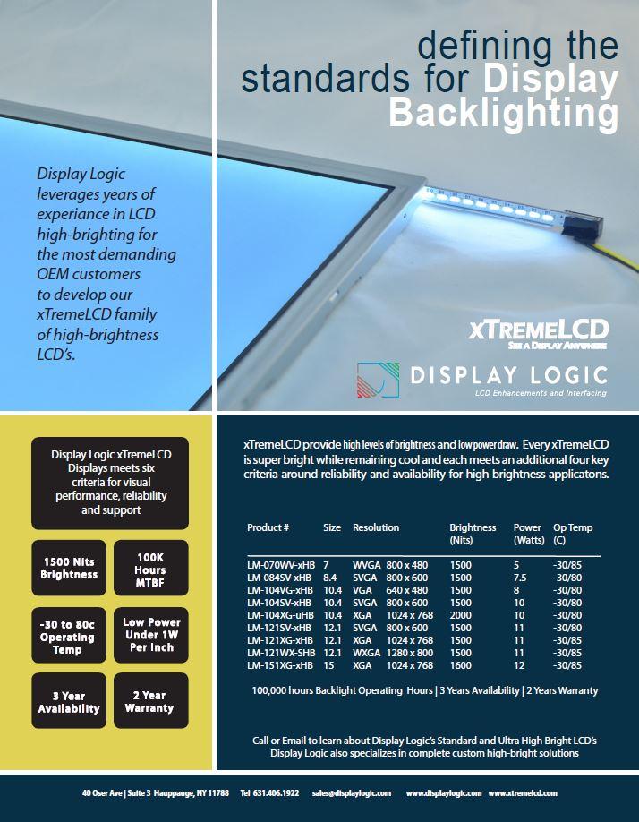display back lighting