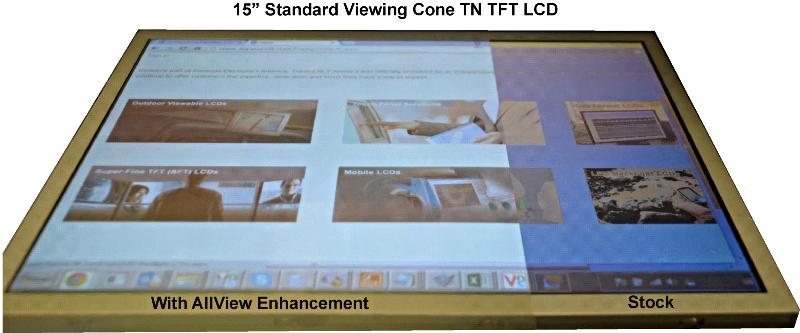 Nematic (TN) LCD technology